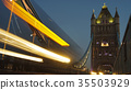 Rush hour in London, view to the Tower Bridge, 35503929