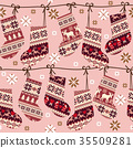 Nordic pattern 35509281