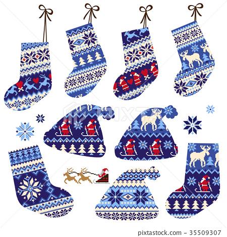 Nordic material sock hat 35509307