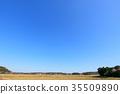 ทัศนียภาพ,ภูมิทัศน์,ท้องฟ้าเป็นสีฟ้า 35509890