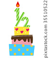 vector, vectors, birthday 35510522