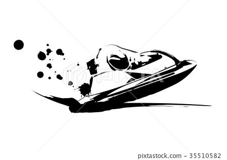 Motor boat race 35510582