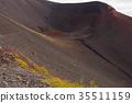 富士山 爐頭 火山口 35511159