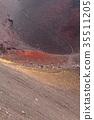 富士山 爐頭 火山口 35511205