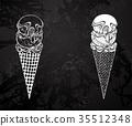 ice, cream, food 35512348