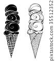 food, ice, cream 35512352