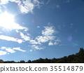 藍天 藍色 藍 35514879