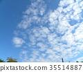백운, 푸른, 하늘 35514887