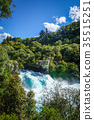 Huka falls, Taupo, New Zealand 35515251