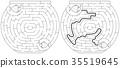 Easy fishbowl maze 35519645
