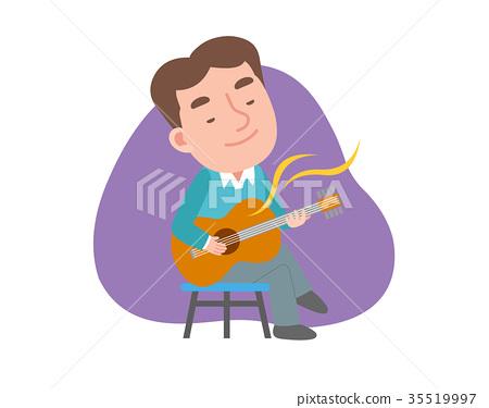 吉他 其他 男性 35519997
