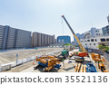 Large scale construction site 35521136