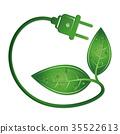 electricity, plug, ecological 35522613