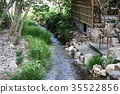 House waterway left behind the mansion (Sakyo-ku, Kyoto City) 35522856