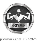 gym, fitness, vector 35522925