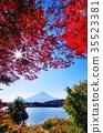 ใบไม้เปลี่ยนสีและฟูจิ (Kawaguchiko) 35523381
