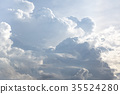 White clouds background texture pattern 35524280