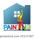 painted roller paint 35527267
