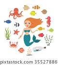 美人魚 可愛 美麗 35527886