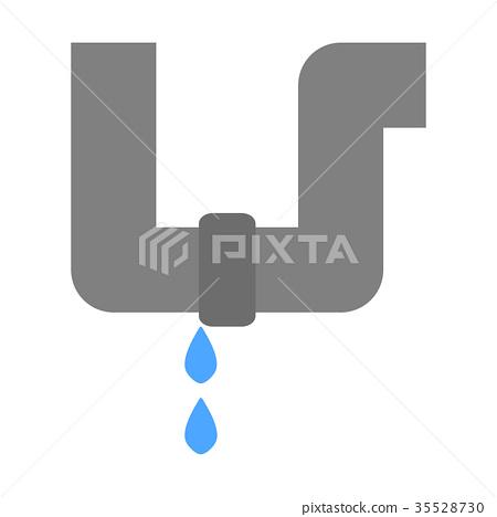 Water leak piping 35528730