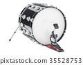 Bass Drum, 3D rendering 35528753