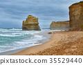 Sandy Ocean Beach 35529440
