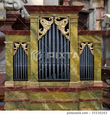 Small Church Organ 35530263
