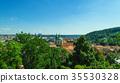 Prague old city panorama 35530328