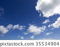 구름, 배경, 파랑 35534904