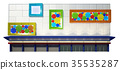 abstract sketch design of exterior building 35535287