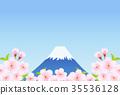 세계유산, 산, 후지산 35536128