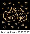 christmas, vector, gold 35536597