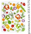 Fresh organic vegetable 35537375