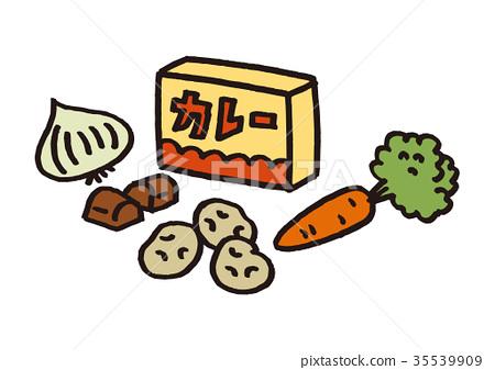 食品 材料 咖哩 35539909