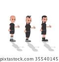 cartoon guy character 35540145