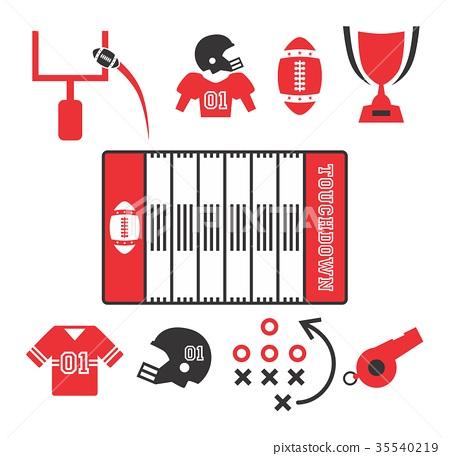 american football 35540219