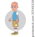 cartoon guy character 35540326