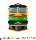 front side of locomotive. 35542230