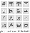 vector home symbol 35542935