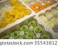 Box of Colorful Roses for Preserved Flower 35543612