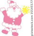 별, 벡터, 크리스마스 35545577
