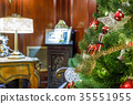Decorated Christmas tree 35551955