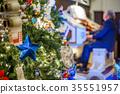 Decorated Christmas tree 35551957