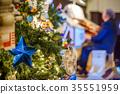 Decorated Christmas tree 35551959