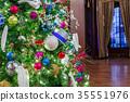 Decorated Christmas tree 35551976