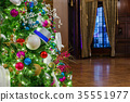 Decorated Christmas tree 35551977