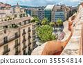 Passeig de Gracia, Barcelona, Catalonia, Spain 35554814