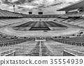 Olympic Stadium, Montjuic, Barcelona, Spain 35554939
