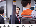 Industry, factory, forklift, worker 35555718