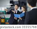 Factory, Explanations, Businessman, Business Woman 35555768